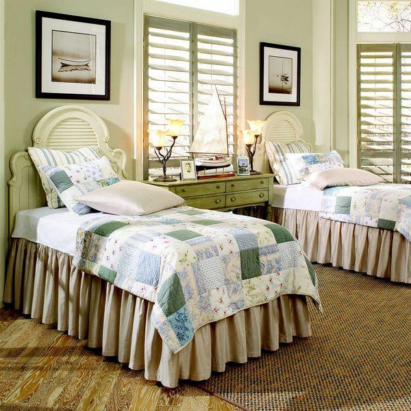 Twins Bed 床