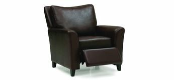 Modern Office Black Single Sofa  Armchair 07