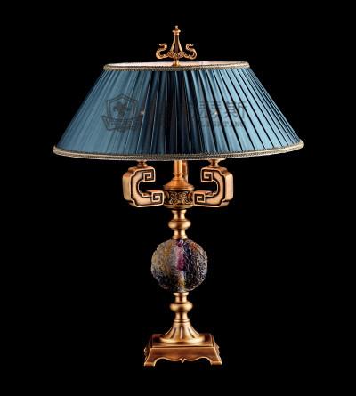 维利亚全铜灯95687/8新中式复古古典卧室茶楼吊灯