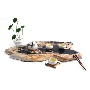 木化石茶盤