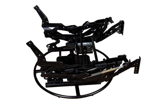 Swivel rocker recliner mechanism ZH4153