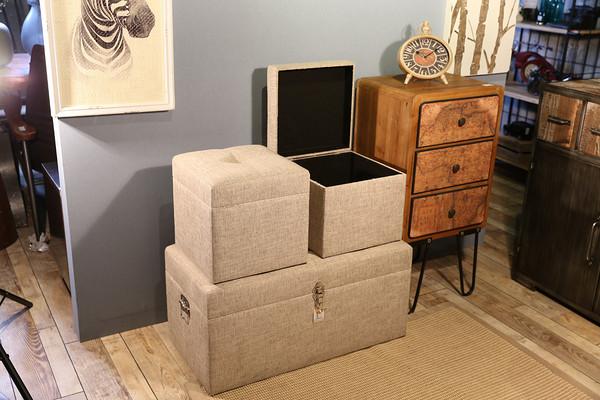 Large, medium and small storage box