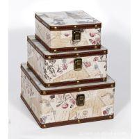 Retro pattern storage box