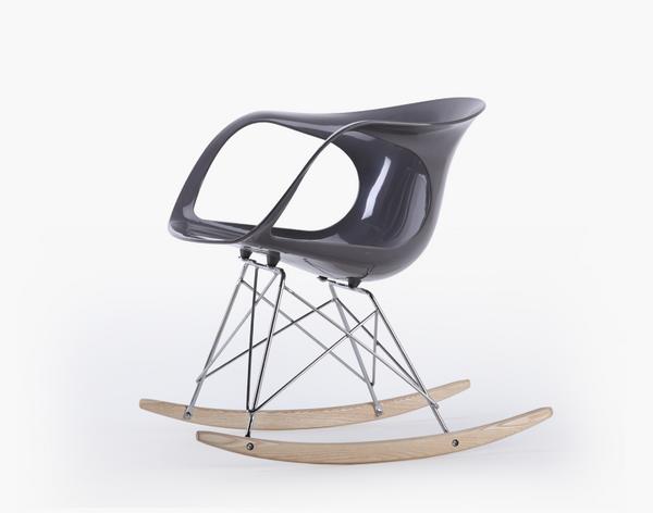 RITA-冷峻灰  餐椅