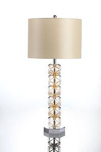 水晶玻璃臺燈