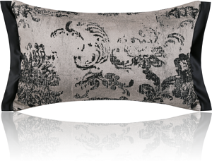 Ink pattern pillow
