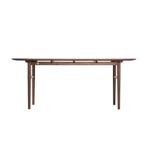 時慢  現代中式 一堂桌 實木書桌