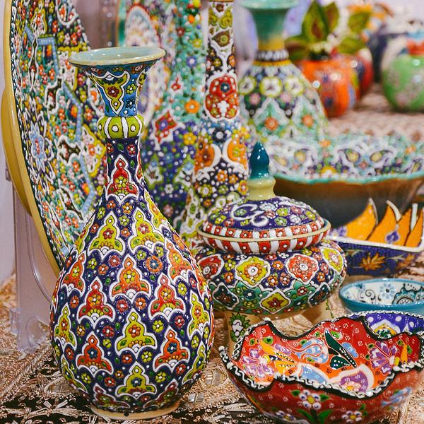 Persian Time Exotic Ceramics Mina