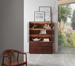 今制 现代中式 悦漾展示柜 实木橱柜