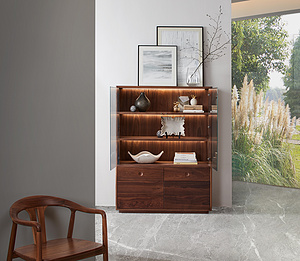 今制 現代中式 悅漾展示柜 實木櫥柜