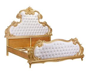 3D雕刻國王床
