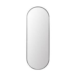 Verdon橢圓形鏡子 - 黑色