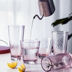 朵頤 水晶玻璃水杯網紅女茶杯超可愛葡萄酒杯立體喝涼水杯ins潮流創意飲料果汁啤酒杯