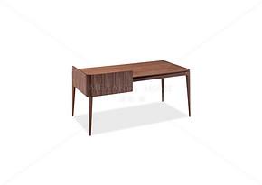 克里字台 实木书桌