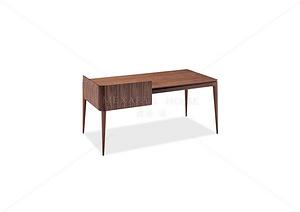 克里字臺 實木書桌