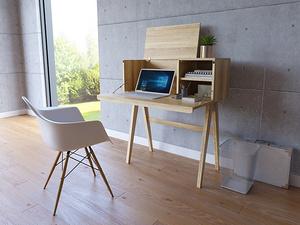 實木北歐風書桌椅