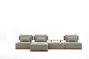 慕友 古典風 灰色沙發