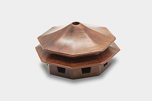 實木 擺件 裝飾 建筑香爐