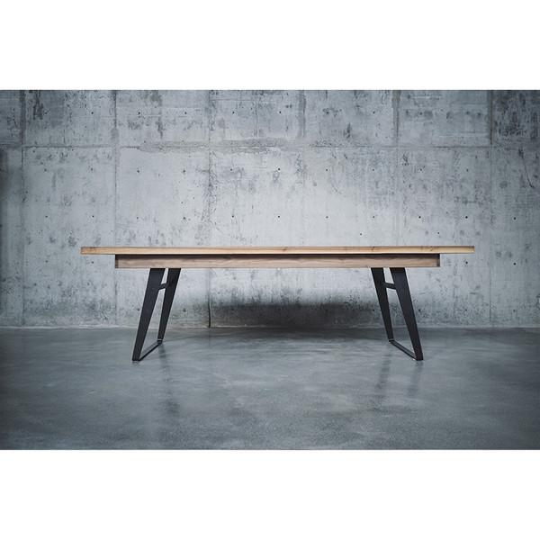 一屿家居 铁斜脚餐桌