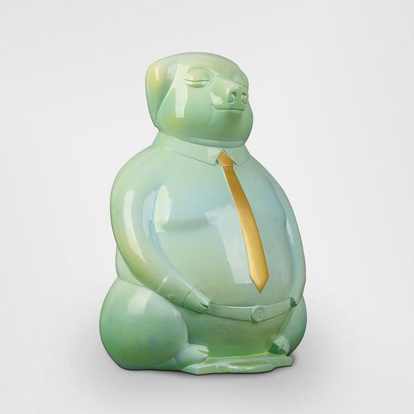 艺术雕塑摆件-沐浴