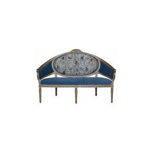 歐仁妮皇后-客廳-法式古典長椅
