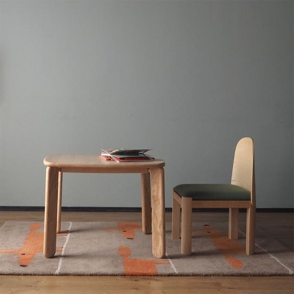 一屿家居 儿童桌 硬枫木