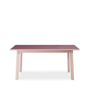 挪亞家 純實木腿餐桌 1.6M