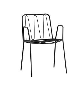 XRB-1012  鐵線型金屬休閑椅
