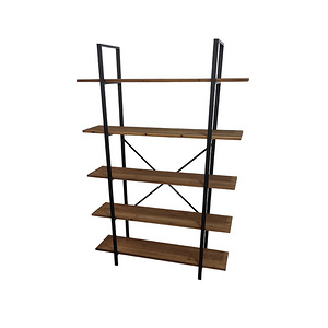 Metal Wood Bookshelf/BF18C028