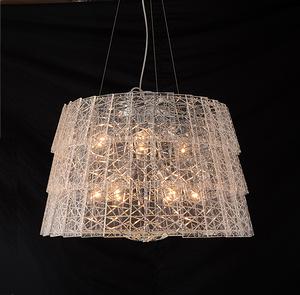 YT60158-10D-鉻色吊燈
