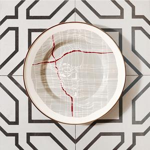 THE THREAD搪瓷淺口盤