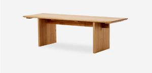 MUMO木墨 長茶桌 全實木 黑胡桃木餐桌 櫻桃木原木長桌 實木長桌