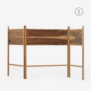 MUMO木墨 簡易實木折疊屏風隔斷簡約現代臥室客廳房間玄關移動