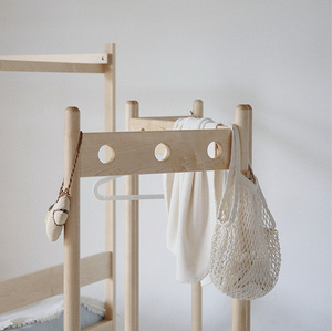 MUMO木墨 兒童圈圈屏風 初制 兒童系列白楓木家具