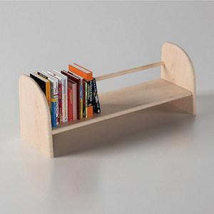 哈木的房間兒童學習書桌配套書架純實木筆盒可移動收納柜書柜