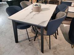 餐桌:B-172 餐椅:F818