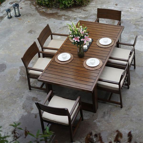 富临轩户外铸铝桌椅组合