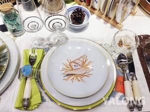 輕奢西餐餐盤 簡歐黃金邊系列