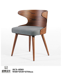 SC3-8583 北歐現代簡約用餐椅