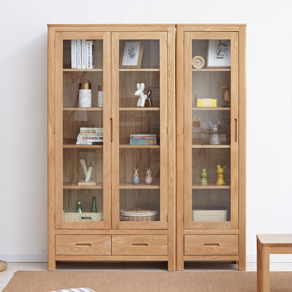 Rotterdam solid wood bookcase