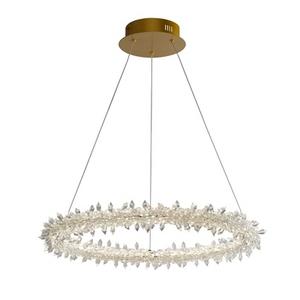 8776 輕奢鐵藝水晶 吊燈