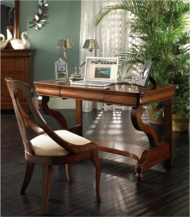 经典美式 路易斯菲利普经典系列书桌