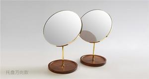 木制 托盤美容鏡