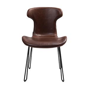 EC14059 牛皮餐椅