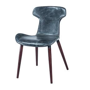 EC15025 牛皮餐椅