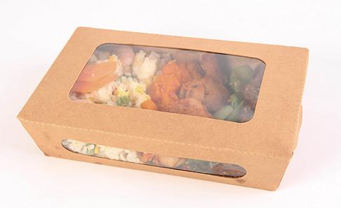开窗沙拉盒