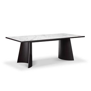 伯朗 陶瓷巖板餐桌