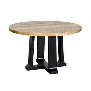 實木餐桌簡約時尚圓桌HF19171