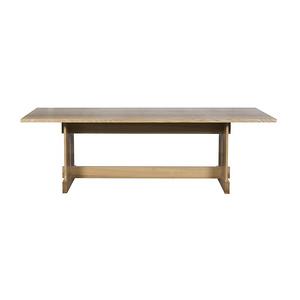 北歐現代簡約純實木長款餐桌HF19182