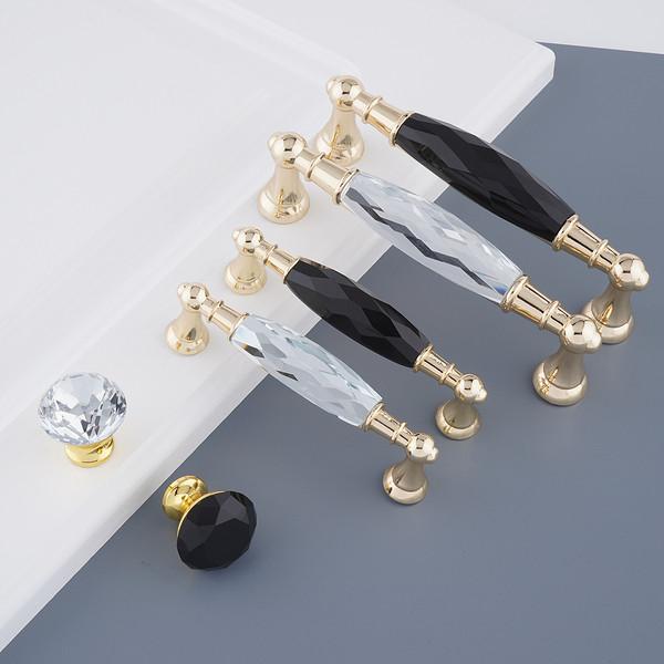 金把新款水晶拉手门拉手柜子拉手创新